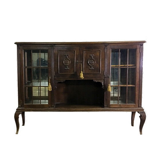 French Wood Commode, Mid 20th Century.