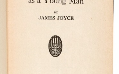 JOYCE | A Portrait of the Artist as a Young Man, 1916, New York