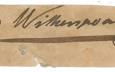 John Witherspoon Signature
