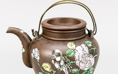 Large Yixing teapot with