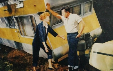 "Lucille Ball and Desi Arnaz ""The Long, Long Trailer"""