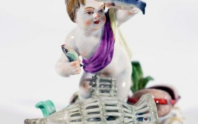 "Meissen ""The Elements - Water"" porcelain figure"