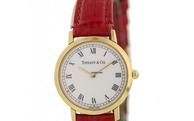 Tiffany & Co L1530 18k Yellow Gold Vintage Watch