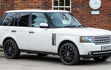 2009 Land Rover Range Rover 5.0 V8 Supercharged Autobiography, Registration no. CN59 GGE Chassis no. SALLMAME3AA312264