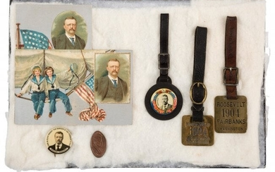 43487: Theodore Roosevelt: One-Day Event Button And Mor