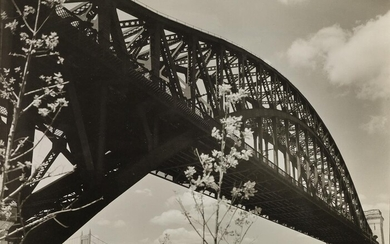 BERENICE ABBOTT (1898 1991) Hell Gate Bridge I