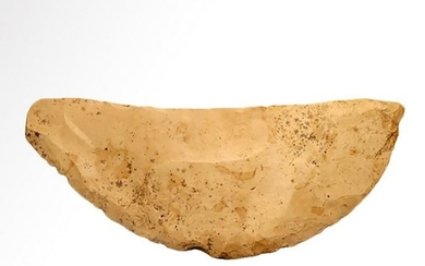 Egyptian Neolithic Flaked Flint Tool/Knife