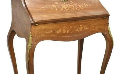 FRENCH LOUIS XV STYLE ROSEWOOD LADIES WRITING DESK