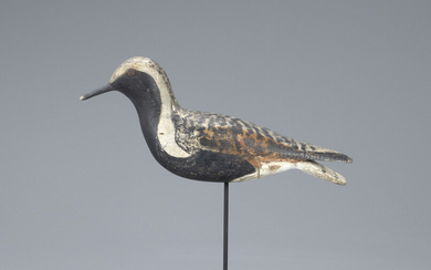 Hollow Black-Bellied Plover Decoy