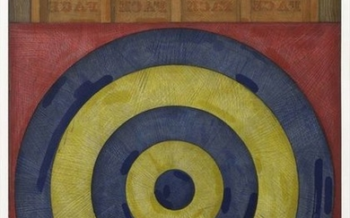 Jasper Johns, Target with four faces