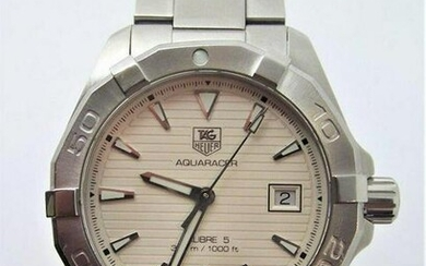Mens S/Steel TAG HEUER AQUARACER CALIBER 5 Watch Diver