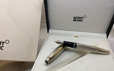 Montblanc - Meisterstück Solitaire Sterling Silver Barley No.146 Fountain Pen