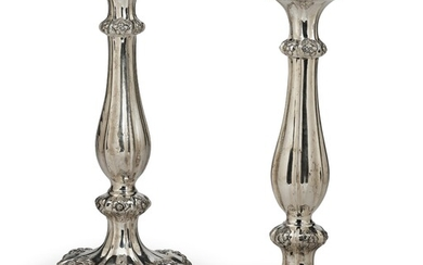 A Pair of Candleholders from Vienna