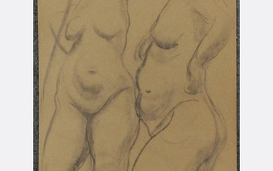RAPHAEL SOYER 1899-1987, Nude Females Drawing