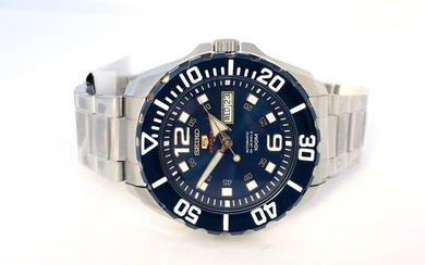 Seiko - Baby Monster (Blue) Automatic Diver Watch- SRPB37K1 - Men - 2011-present