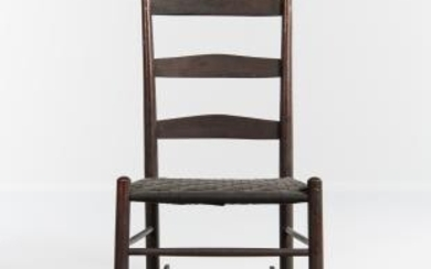 "Shaker ""No. 1"" Production Child's Rocking Chair"
