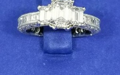 Tacori ring with a GIA certification
