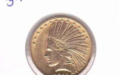 United States - 10 Dollars 1911 Indian Head - Gold