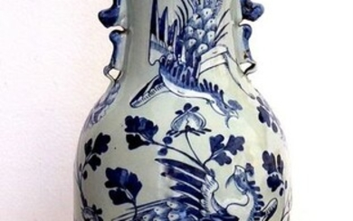 Vase - Porcelain - Large Vase 57 cm h. - China - Late 19th century