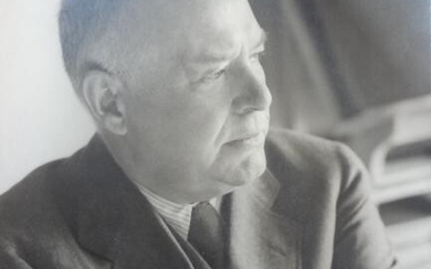 WALLACE STEVENS (ORIGINAL BLACK AND WHITE PHOTOGRAPH) FROM STEVENS' PERSONAL ARTIFACTS