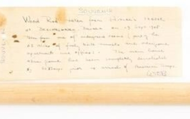 WWII COL BUIE BERCHTESGARDEN BRING BACK WOOD ROD