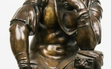 19th C. Bronze Sculpture of Lorenzo de Medici