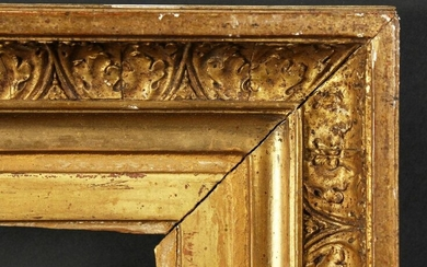 "A 19th Century French Gilt Composition Frame. 8"" x"
