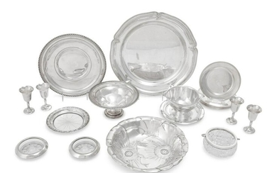 A Collection of American Silver Table Articles