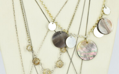 A GROUP OF NECKLACES