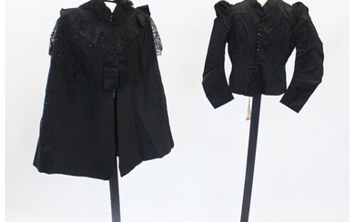 A collection of late 19th century lady's clothing, to includ...