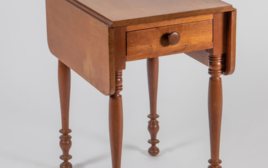 An American Cherry and Pine Pembroke Table