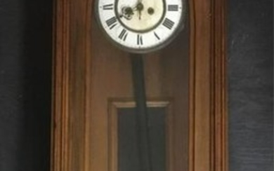 Antique Gebruder Resch Vienna Pendulum Wall Clock