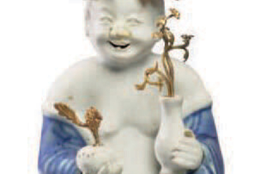ƒ CHINESE PORCELAIN CHARACTER MOUNTED
