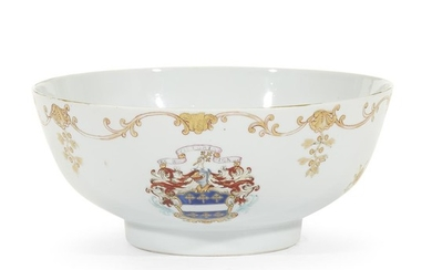Chinese Export porcelain bowl with the arms of Rattray...