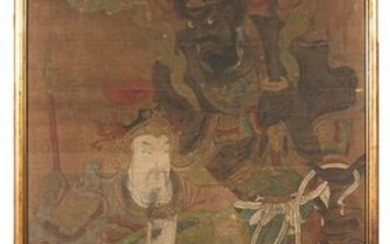 Chinese Painting of Daoist Guardians, 15-16th Century