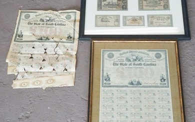 Collection Confederate Paper Currency