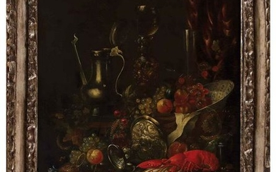 FLEMISH SCHOOL, 18th CENTURY - Still life with fruit,