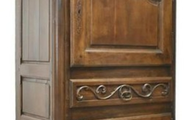 FRENCH PROVINCIAL LOUIS XV STYLE WALNUT BONNETIERE