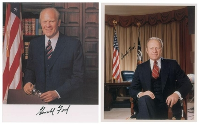 Gerald Ford Signed Group Lot