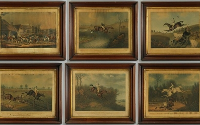 Group of English Sporting Prints