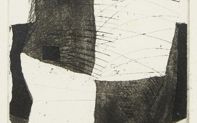 Hans Tisdall, German/British 1910-1997- Untitled abstract composition;...