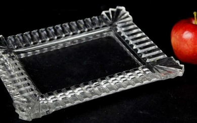 LALIQUE STYLE LADIES FRAMED VANITY TRAY