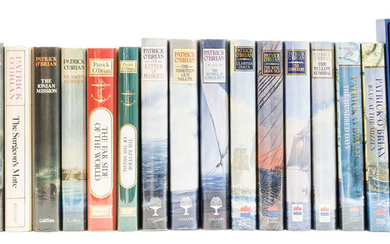 O'Brian (Patrick) [A complete set of the Aubrey-Maturin novels], 20 vol. first editions, 1970-99; and 6 others (26)