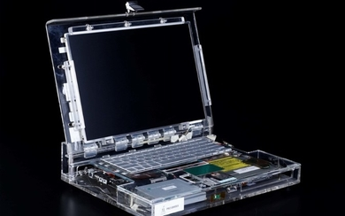 Prototipo di Apple Powerbook G4 alluminum (2002)