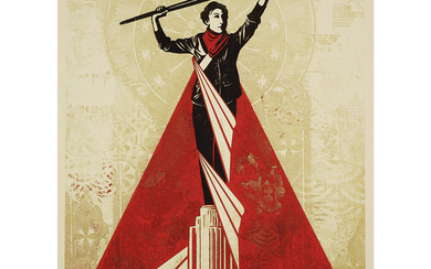SHEPARD FAIREY (né en 1970) ARTISTS FOR FREEDOM,...