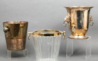 Silver-Plate Champagne Ice Buckets, 3