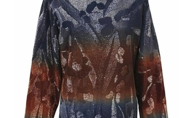 Versace Limited Edition Long Sleeve Sequin Embroidered
