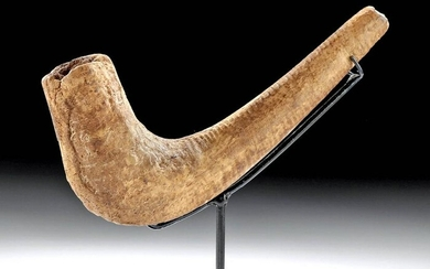 18th C. Hawaiian Islands Wood Tobacco Pipe