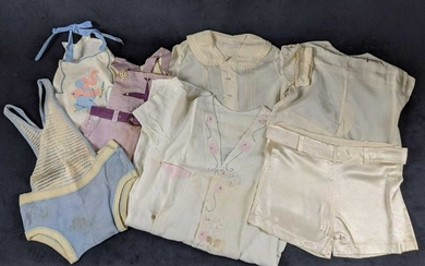 1940s Vintage Handmade Baby Toddler Clothing