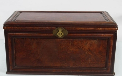 19TH-CENTURY CHINESE PANELLED TRUNK